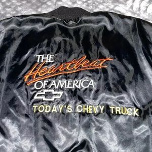 VTG CHEVY TRUCKS HEARTBEAT OF AMERICA BOMBER 2XL